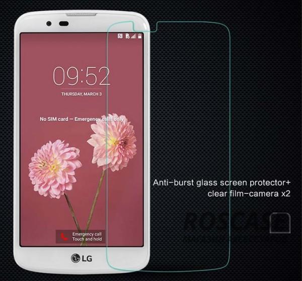 Защитное стекло Nillkin Anti-Explosion Glass Screen (H) для LG K10 K410/K430DSОписание:компания-производитель:&amp;nbsp;Nillkin;совместимо с LG K10 K410/K430DS;материал: закаленное стекло;тип: стекло.&amp;nbsp;Особенности:имеются все функциональные вырезы;в комплекте защита на камеру;антибликовое покрытие;твердость 9H;не влияет на чувствительность сенсора;легко очищается;толщина - &amp;nbsp;0,3 мм;анти-отпечатки.<br><br>Тип: Защитное стекло<br>Бренд: Nillkin