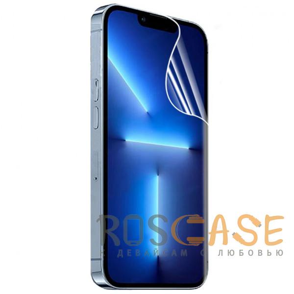 Фото Прозрачная Гидрогелевая защитная пленка Rock для iPhone 13 Pro Max