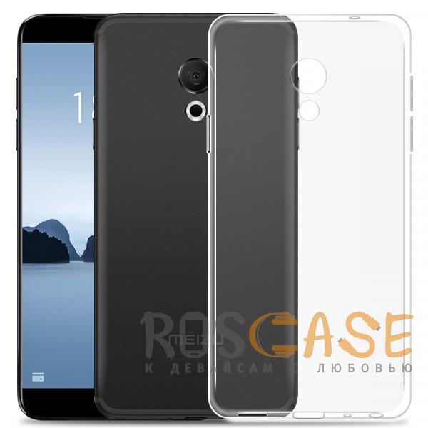 Фото Бесцветный J-Case THIN   Гибкий силиконовый чехол для Meizu 15 Lite / M15 (China)