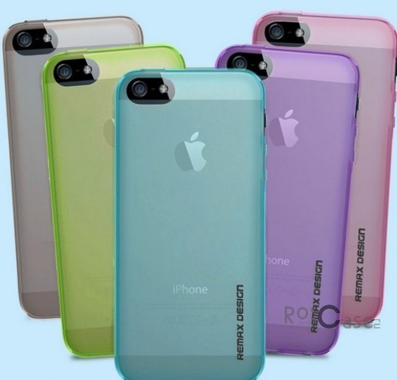 фото TPU чехол Remax Pudding для Apple iPhone 5/5S/5SE (+пленка)