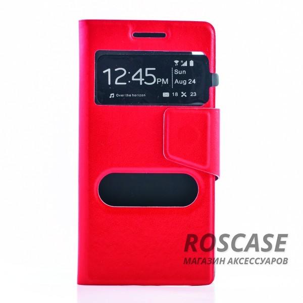 Чехол (книжка) с TPU креплением для Huawei Ascend P6 (Красный)Описание:разработан компанией&amp;nbsp;Epik;спроектирован для&amp;nbsp;Huawei Ascend P6;материал: синтетическая кожа;тип: чехол-книжка.&amp;nbsp;Особенности:имеются все функциональные вырезы;магнитная застежка закрывает обложку;защита от ударов и падений;в обложке есть окошко;превращается в подставку.<br><br>Тип: Чехол<br>Бренд: Epik<br>Материал: Искусственная кожа