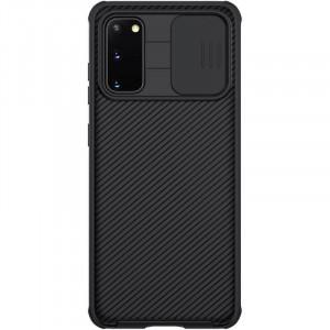 Nillkin CamShield Pro | Чехол из пластика и TPU с защитой камеры  для Samsung Galaxy S20