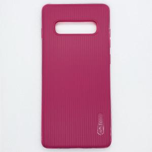 Силиконовая накладка Fono для Samsung Galaxy S10+