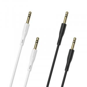 Кабель аудио AUX 3.5мм Borofone BL1 1м для Meizu U20