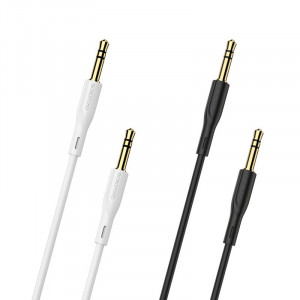 Кабель аудио AUX 3.5мм Borofone BL1 1м