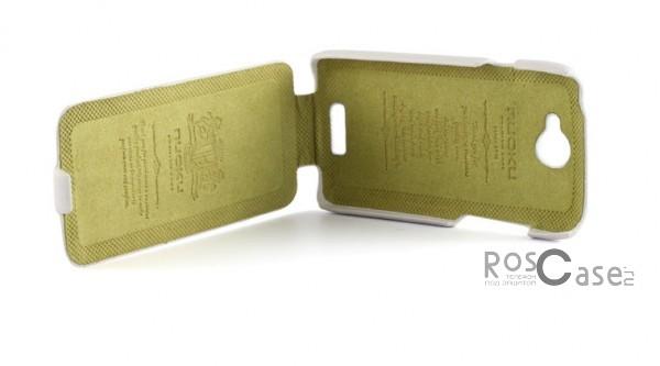 фото кожаный чехол Nuoku (флип) для HTC One S (+ пленка)