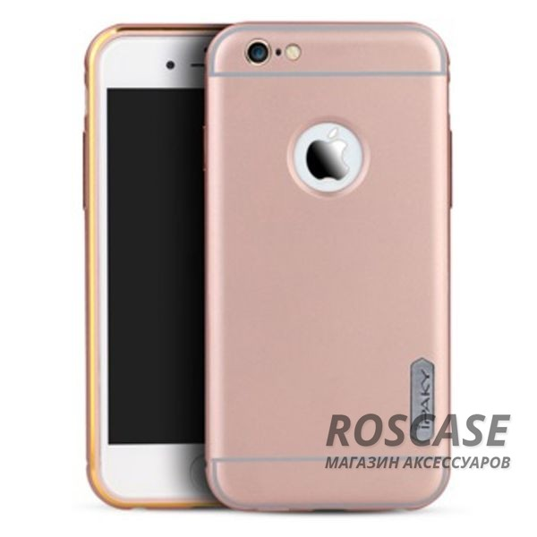 фото Rose Gold Чехол iPaky Metal Frame Series для Apple iPhone 6/6s (4.7