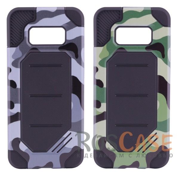 Противоударный прочный чехол с усиленной защитой в армейском стиле для Samsung G955 Galaxy S8 PlusОписание:разработан специально для Samsung G955 Galaxy S8 Plus;камуфляжная расцветка;материалы - силикон, поликарбонат;тип - накладка;защита от царапин и ударов;не скользит в руках;предусмотрены все вырезы.<br><br>Тип: Чехол<br>Бренд: Epik<br>Материал: Силикон
