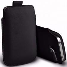 Кожаный чехол футляр с язычком для Samsung Galaxy J1 Duos (J100)