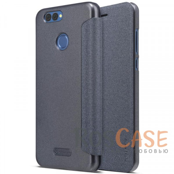 Защитный чехол-книжка Nillkin Sparkle для Huawei Nova 2 Plus (Черный)Описание:от компании&amp;nbsp;Nillkin;спроектирован для Huawei Nova 2 Plus;материалы: поликарбонат, искусственная кожа;блестящая поверхность;не скользит в руках;предусмотрены все необходимые вырезы;защита со всех сторон;тип: чехол-книжка.<br><br>Тип: Чехол<br>Бренд: Nillkin<br>Материал: Искусственная кожа
