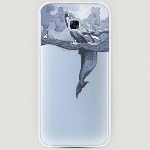 RosCase | Силиконовый чехол Два измерения на Samsung A520 Galaxy A5 (2017) для Samsung Galaxy A5 2017 (A520F)