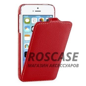 Кожаный чехол (флип) TETDED для Apple iPhone 5/5S/SE (Красный / Red)Описание:бренд: TETDED;совместим с Apple iPhone 5/5S/5SE;используемые материалы: кожа;форма: флип вниз.&amp;nbsp;Особенности:износоустойчивый;выполнен вручную;полный набор функциональных прорезей;строчный шов по периметру;тонкое исполнение.<br><br>Тип: Чехол<br>Бренд: TETDED<br>Материал: Натуральная кожа