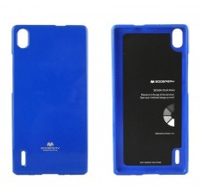фото TPU чехол Mercury Jelly Color series для Huawei Ascend P7