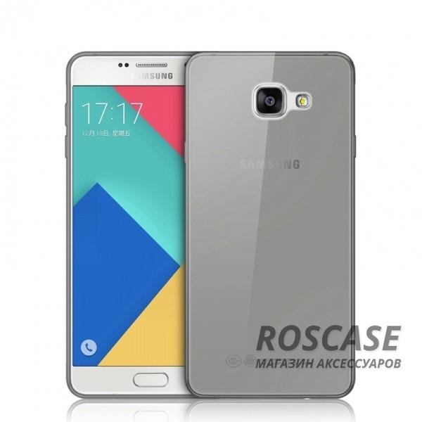 Ультратонкий силиконовый чехол Ultrathin 0,33mm для Samsung A710F Galaxy A7 (2016) (Серый (прозрачный))Описание:изготовлен компанией&amp;nbsp;Epik;совместим с&amp;nbsp;Samsung A710F Galaxy A7 (2016);материал: термополиуретан;тип: накладка.&amp;nbsp;Особенности:толщина накладки - 0,33 мм;прозрачный;эластичный;надежно фиксируется;есть все функциональные вырезы.<br><br>Тип: Чехол<br>Бренд: Epik<br>Материал: TPU