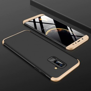 GKK LikGus 360° | Двухсторонний чехол для Samsung Galaxy J8 (2018) с защитными вставками