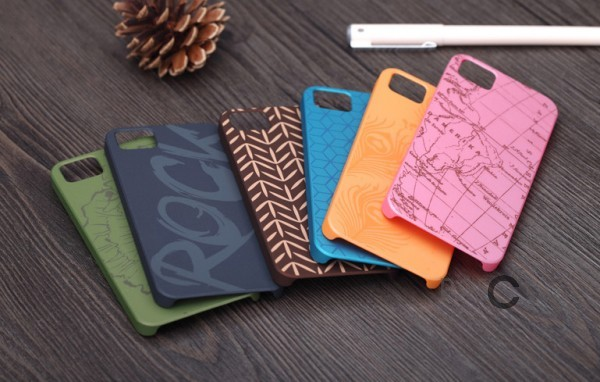 Фото пластиковой накладки Rock Impres Series для Apple iPhone 5 / 5S