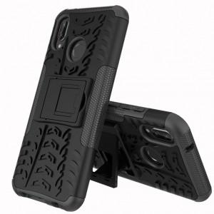 Shield | Противоударный чехол для Huawei P20 с подставкой