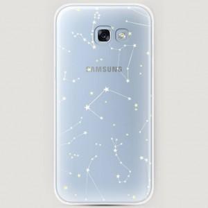 RosCase | Силиконовый чехол Созвездия на Samsung A520 Galaxy A5 (2017) для Samsung Galaxy A5 2017 (A520F)