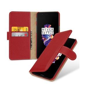 TETDED натур. кожа | Чехол-книжка для Gerzat с магнитной застежкой для OnePlus 5
