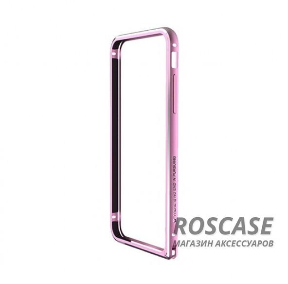 Металлический бампер Nillkin Gothic Series для Apple iPhone 6/6s (4.7) (Розовый)Описание:производитель  -  бренд Nillkin;совместимость: Apple iPhone 6/6s (4.7);материал  -  металл;форма  -  бампер.&amp;nbsp;Особенности:легкий и прочный;имеет все функциональные вырезы;обладает хорошей амортизацией;не увеличивает габариты;стильныйгладкий.<br><br>Тип: Бампер<br>Бренд: Nillkin