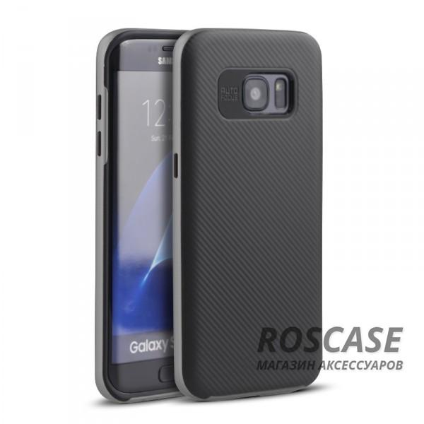 Чехол iPaky TPU+PC для Samsung G930F Galaxy S7 (Черный / Серый)Описание:производитель: iPaky;совместимость: смартфон Samsung G930F Galaxy S7;материал для изготовления: термополиуретан и поликарбонат;форм-фактор: накладка;Особенности:яркий, запоминающийся дизайн;дополнительный каркас из поликарбоната;прочность и износостойкость;ультратонкий;есть все необходимые функциональные вырезы;легко очищается.<br><br>Тип: Чехол<br>Бренд: Epik<br>Материал: TPU