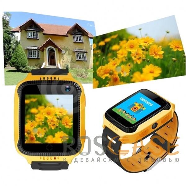 Изображение Желтый Умные детские часы Smart Baby Watch T7