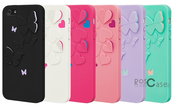 Фото пластиковой накладки SwitchEasy Kirigami Series для Apple iPhone 5