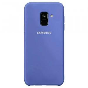 Cиликоновый чехол для Samsung Galaxy A6 (2018) с покрытием soft touch