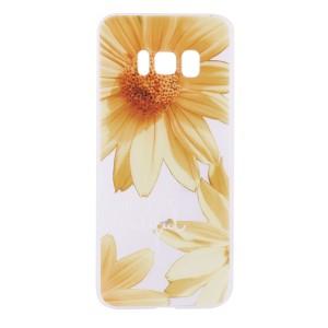 Матовый чехол для Samsung G955 Galaxy S8 Plus с ярким принтом