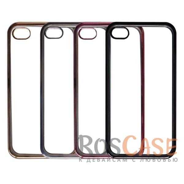 Прозрачный силиконовый чехол для Apple iPhone 4/4S с глянцевой окантовкойОписание:совместим с Apple iPhone 4/4S;материал - термополиуретан;тип - накладка.<br><br>Тип: Чехол<br>Бренд: Epik<br>Материал: TPU