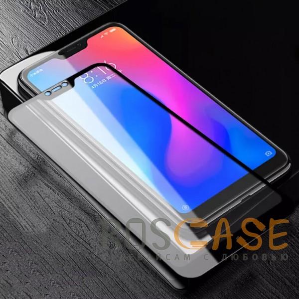 Фотография Черное 5D защитное стекло для Xiaomi Mi 8 Lite / Mi 8 Youth (Mi 8X) на весь экран