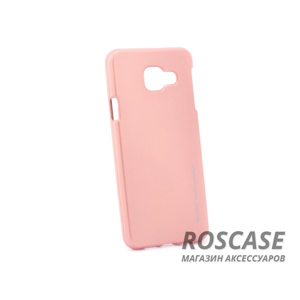 фото Rose Gold TPU чехол Mercury iJelly Metal series для Samsung A310F Galaxy A3 (2016)