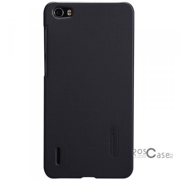 Чехол Nillkin Matte для Huawei Honor 6 (+ пленка) (Черный)Описание:производитель - бренд&amp;nbsp;Nillkin;материал - поликарбонат;совместимость - Huawei Honor 6;тип - накладка.&amp;nbsp;Особенности:матовый;прочный;тонкий дизайн;не скользит в руках;не выцветает;пленка в комплекте.<br><br>Тип: Чехол<br>Бренд: Nillkin<br>Материал: Поликарбонат