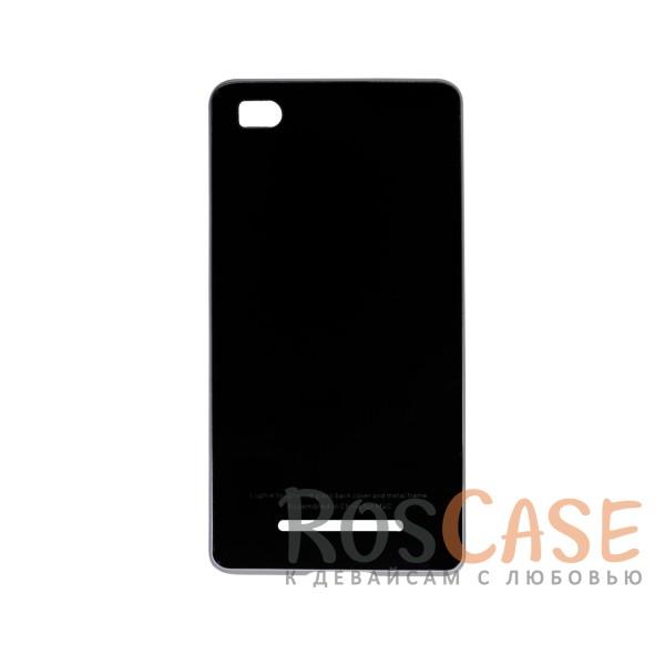 Металлический бампер Luphie с акриловой вставкой для Xiaomi Mi 4i / Mi 4c (Серебряный / Черный)Описание:бренд -&amp;nbsp;Luphie;материал - алюминий, акриловое стекло;совместим с Xiaomi Mi 4i / Mi 4c;тип - бампер со вставкой.Особенности:акриловая вставка;прочный алюминиевый бампер;в наличии все вырезы;ультратонкий дизайн;защита устройства от ударов и царапин.<br><br>Тип: Чехол<br>Бренд: Luphie<br>Материал: Металл