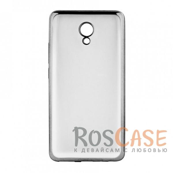Прозрачный силиконовый чехол для Meizu M5 Note с глянцевой окантовкой (Черный)Описание:совместим с Meizu M5 Note;глянцевая окантовка;материал - TPU;тип - накладка.<br><br>Тип: Чехол<br>Бренд: Epik<br>Материал: TPU