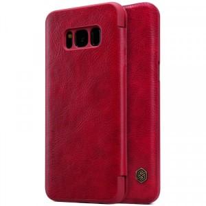 Nillkin Qin натур. кожа | Чехол-книжка для Samsung G955 Galaxy S8 Plus