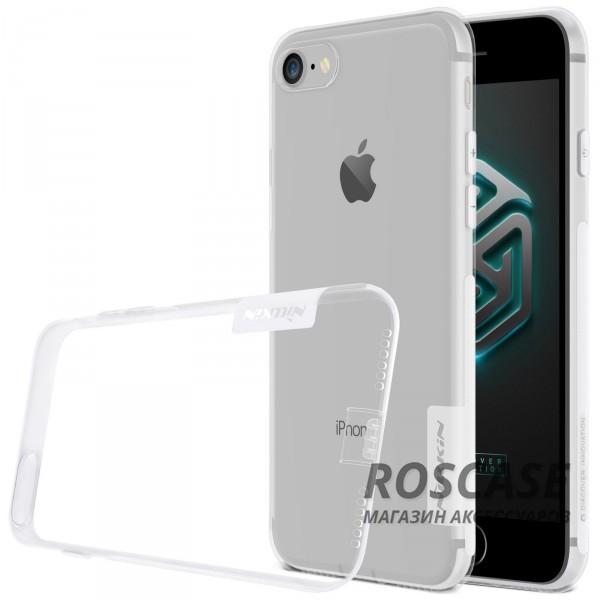 TPU чехол Nillkin Nature Series для Apple iPhone 7 (4.7) (Бесцветный (прозрачный))Описание:производитель  -  бренд&amp;nbsp;Nillkin;совместим с Apple iPhone 7 (4.7);материал  -  термополиуретан;тип  -  накладка.&amp;nbsp;Особенности:в наличии все вырезы;не скользит в руках;тонкий дизайн;заглушка на отверстие для зарядки.защита от ударов и царапин;прозрачный.<br><br>Тип: Чехол<br>Бренд: Nillkin<br>Материал: TPU