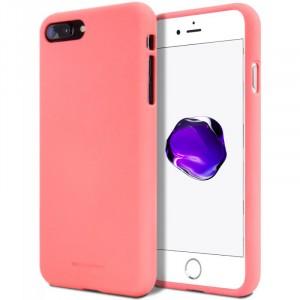 "Гибкий матовый защитный чехол Mercury Soft Feeling Jelly с поверхностью Soft-Touch для Apple iPhone 7 Plus (5.5"")"