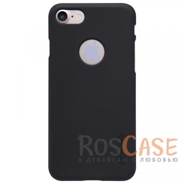 Матовый чехол Nillkin Super Frosted Shield для Apple iPhone 7 / 8 (4.7) (+ пленка) (Черный)Описание:бренд&amp;nbsp;Nillkin;спроектирована для&amp;nbsp;Apple iPhone 7 / 8 (4.7);материал - поликарбонат;тип - накладка.Особенности:фактурная поверхность;защита от ударов и царапин;тонкий дизайн;наличие функциональных вырезов;пленка на экран в комплекте.<br><br>Тип: Чехол<br>Бренд: Nillkin<br>Материал: Поликарбонат