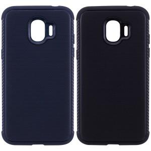 Weave | Гибкий силиконовый чехол для Samsung J250F Galaxy J2 Pro (2018) с ребристыми гранями