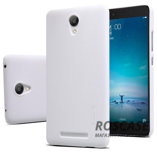 Чехол Nillkin Matte для Xiaomi Redmi Note 2 / Redmi Note 2 Prime (+ пленка) (Белый)Описание:производитель -&amp;nbsp;Nillkin;материал - поликарбонат;совместим с Xiaomi Redmi Note 2 / Redmi Note 2 Prime;тип - накладка.&amp;nbsp;Особенности:матовый;прочный;тонкий дизайн;не скользит в руках;не выцветает;пленка в комплекте.<br><br>Тип: Чехол<br>Бренд: Nillkin<br>Материал: Поликарбонат