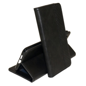 Business Wallet | Кожаный чехол книжка с визитницей для Xiaomi Mi 9 SE