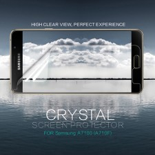 Nillkin Crystal | Прозрачная защитная пленка  для Samsung Galaxy A7 2016 (A710F)