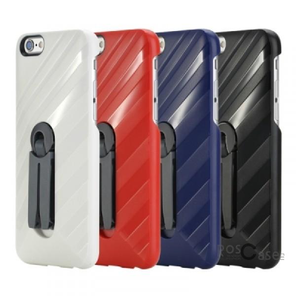 Пластиковая накладка Rock Car Mount (функц. подставки + автодержатель) для Apple iPhone 6/6s (4.7)Описание:бренд&amp;nbsp;Rock;совместимость: Apple iPhone 6/6s (4.7);материал  -  термополиуретан;тип  -  накладка.&amp;nbsp;Особенности:имеются все функциональные вырезы;функция подставки;функция автодержателя;не скользит;амортизирует удары;на ней не видны следы от пальцев;защищает от царапин.<br><br>Тип: Чехол<br>Бренд: ROCK<br>Материал: Пластик