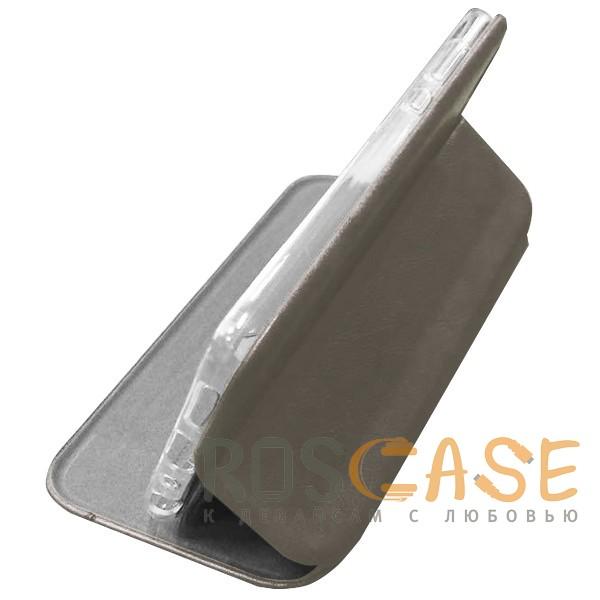 "Open Color 2 | Чехол-книжка на магните для Apple iPhone XS Max (6.5"") с подставкой и внутренним карманом (Серый), , Iphone"