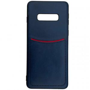 ILEVEL   Чехол с кожаным покрытием и с карманом-визитницей для Samsung Galaxy S10e