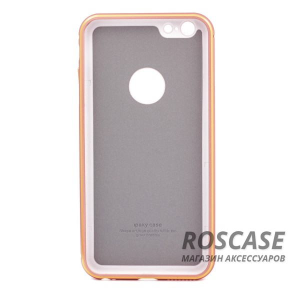 "Изображение Rose Gold iPaky Metal Frame | Чехол для Apple iPhone 6 plus (5.5"")  / 6s plus (5.5"") с металлическим бампером"
