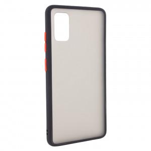 Противоударный матовый полупрозрачный чехол  для Samsung Galaxy A71
