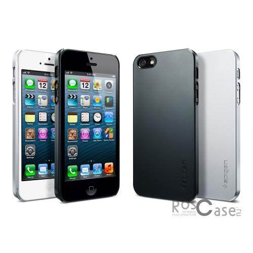 Пластиковая накладка SGP Ultra Thin Air Series для Apple iPhone 5/5S/SE (+ пленка)Описание:бренд:&amp;nbsp;SGP;совместим с Apple iPhone 5/5S/5SE;используемые материалы: поликарбонат;форма чехла: накладка.&amp;nbsp;Особенности:соблюдено полное количество прорезей под функциональные объекты;тонкое исполнение;амортизация возникающей вибрации от падения;широкая палитра цветовых оттенков;пленка в комплекте;идеально прилегает.<br><br>Тип: Чехол<br>Бренд: SGP<br>Материал: Пластик