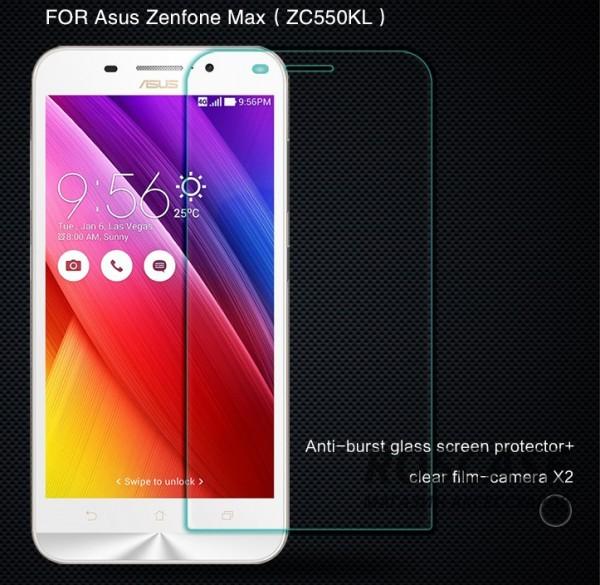 Защитное стекло Nillkin Anti-Explosion Glass Screen (H) для Asus Zenfone Max ?ZC550KL)Описание:бренд-производитель:&amp;nbsp;Nillkin;совместимость: Asus Zenfone Max ?ZC550KL);материал: закаленное стекло;тип: стекло.&amp;nbsp;Особенности:имеются все функциональные вырезы;антибликовое покрытие;твердость 9H;не влияет на чувствительность сенсора;легко очищается;толщина - &amp;nbsp;0,3 мм;анти-отпечатки.<br><br>Тип: Защитное стекло<br>Бренд: Nillkin